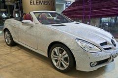 Benz de Swarovski Mercedes Imágenes de archivo libres de regalías