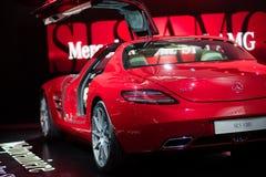 Benz di Merzedes indicato su sessantatreesimo IAA Fotografia Stock