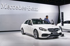 Benz E 63 AMG Obrazy Stock