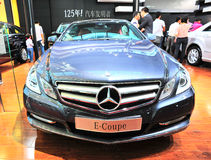Benz e-coupe Stock Photos