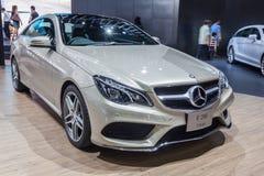 Benz E200 Coupe Stock Photography