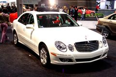 Benz E320 de Mercedes Imagenes de archivo