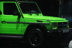 Benz G63 AMG Crazy Wild Limited Edition Stock Photography