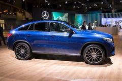 Benz GLE Coupe της Mercedes αυτοκίνητο Στοκ εικόνα με δικαίωμα ελεύθερης χρήσης