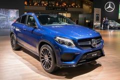 Benz GLE Coupe της Mercedes αυτοκίνητο Στοκ εικόνες με δικαίωμα ελεύθερης χρήσης