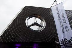 benz logo Mercedes Obrazy Stock