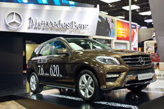 Benz ML350 CDI 4 MATIC Stockbild