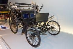 Benz Motor Velocipede anche conosciuto come Velo, 1884 Fotografia Stock