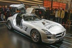 Benz officiel SLS AMG de Mercedes de véhicule de sécurité F1 Photo libre de droits
