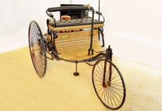 Benz Patent Motor Car antika bilar Fotografering för Bildbyråer