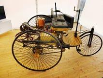 Benz Patent Motor Car,  Antique Cars Stock Photo