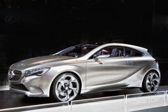 benz samochodu klasy pojęcie Mercedes Fotografia Stock