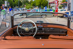 Benz 190SL της Mercedes ανοικτό αυτοκίνητο Στοκ εικόνες με δικαίωμα ελεύθερης χρήσης