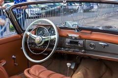Benz 190SL της Mercedes ανοικτό αυτοκίνητο Στοκ φωτογραφία με δικαίωμα ελεύθερης χρήσης