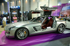 Benz SLS Royalty Free Stock Photos
