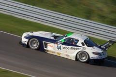 Benz SLS GT3 di Mercedes Fotografie Stock Libere da Diritti