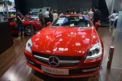 Benz sports car SLK-Class Royalty Free Stock Image
