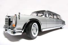 Benz van Mercedes 600 het stuk speelgoed van de metaalschaal auto fisheye #2 stock afbeeldingen