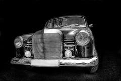 Benz van Mercedes oldtimer Royalty-vrije Stock Foto's