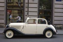 Benz van Mercedes oldtimer Royalty-vrije Stock Foto