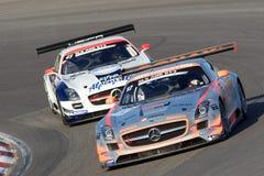 Benz van Mercedes SLS GT3 Stock Foto's