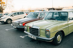 Benz viejo de Mercedes foto de archivo