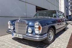 Исторический Benz W108 Мерседес Стоковое Изображение