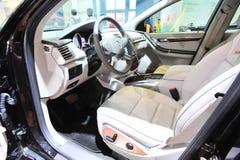 benz wnętrze Mercedes Obrazy Stock