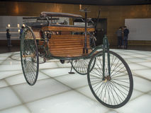 Benzdriewieler Royalty-vrije Stock Afbeelding