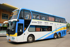 Benze Bus of Budsarakham bus Company Stock Photo