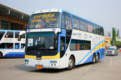Benze Bus of Budsarakham bus Company Stock Image