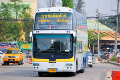 Benze Bus of Budsarakham bus Company Stock Images