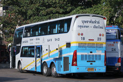 Benze Bus of Budsarakham bus Company Royalty Free Stock Photography