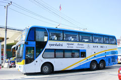 Benze Bus of Budsarakham bus Company Royalty Free Stock Images
