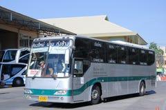 Benze Bus of Green bus Company Stock Photos