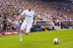 Benzema of Real Madrid Royalty Free Stock Image