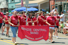 Benzie Central Band Parade Stock Photo