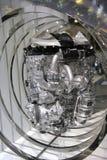 Benzin getankter Kraftfahrzeugmotor Stockbild