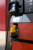 Benzin-Pumpe Stockbild