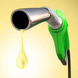 Benzin-Tropfen Lizenzfreies Stockbild