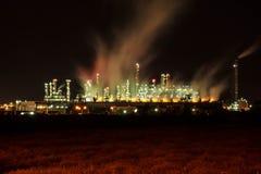 Benzina della raffineria di petrolio Immagini Stock