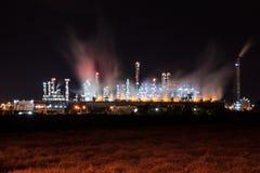 Benzina della raffineria di petrolio Fotografie Stock