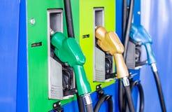 Benzina delle pompe del combustibile Immagine Stock