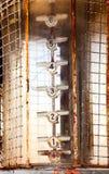 Benzine bowser maat royalty-vrije stock fotografie