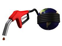 Benzine en de wereldeconomie Stock Foto's