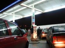 benzine post stock afbeeldingen