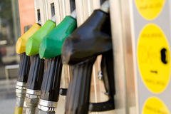 Benzine service station detail Royalty Free Stock Photography