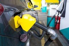 Benzinepijp stock afbeelding