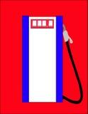 Benzinepomp. royalty-vrije illustratie