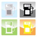 Benzinepomp royalty-vrije illustratie